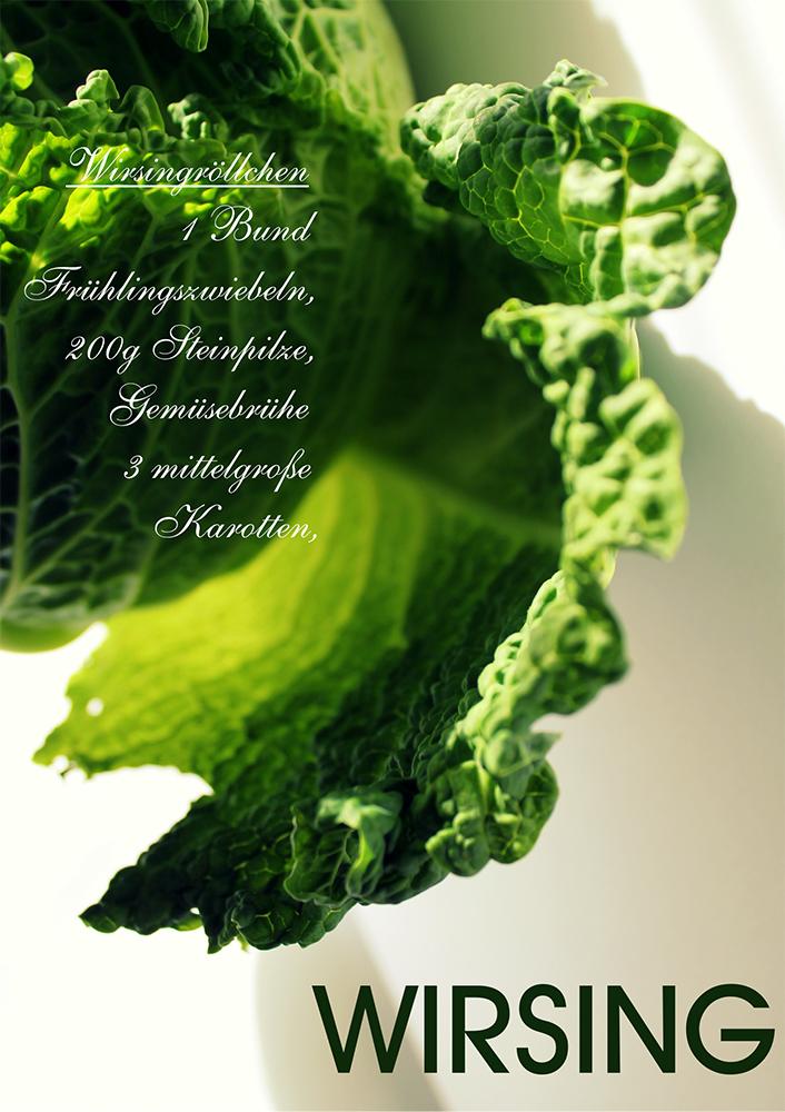 Gemüsegenüsse - Wirsing
