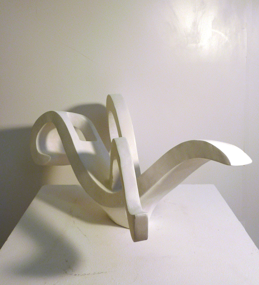 Wellenbewegungen Skulptur 6