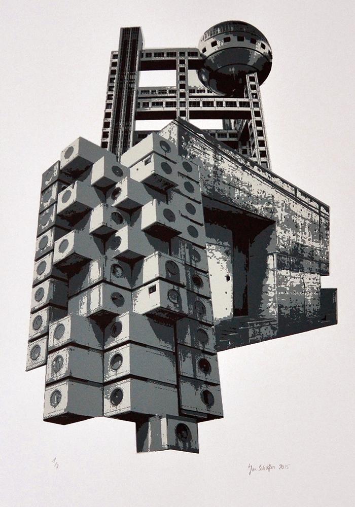 Skulpturale Architektur 1