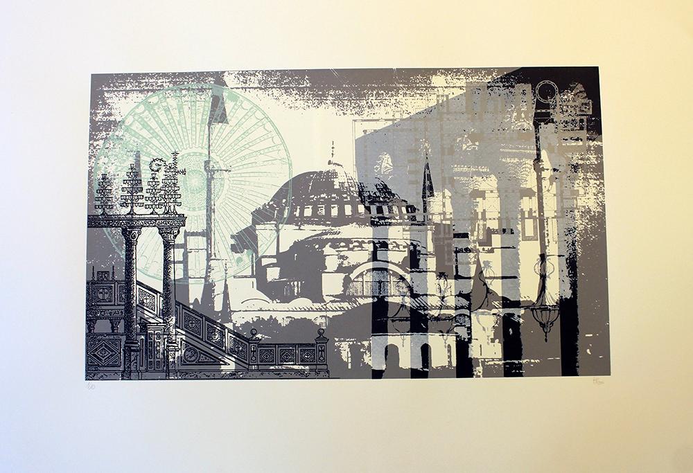 Architektonische Collage 1_1, Nele Hindersmann