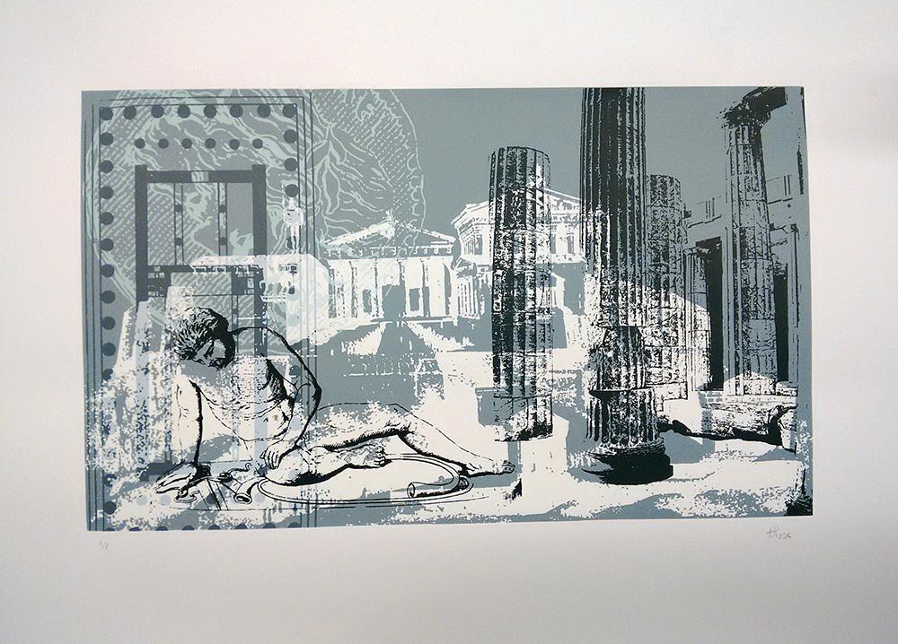 Nele Hindersmann, Architekturcollage 2.1