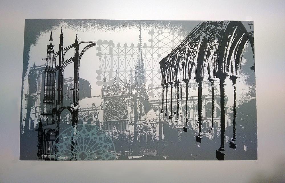 Nele Hindersmann, Architekturcollage 2.2