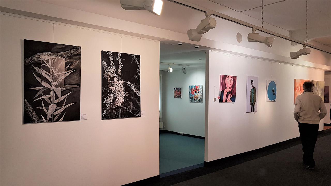 Janine Gilbeau - Collagen Foto / Malerei - Blattwerk