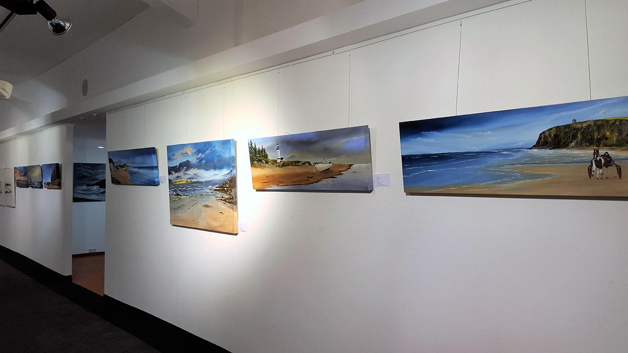 Michael Jordan - Ölmalerei - Bilder von der Küste Irlands