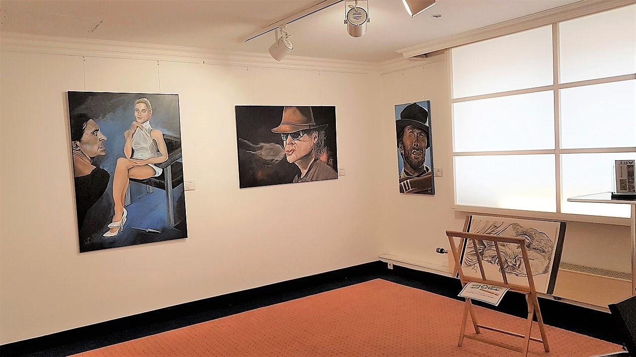 Wellensaeger, Peter Hesse - Portrait bis Karrikatur - Madonna - Udo Lindenberg - Clint Eastwood