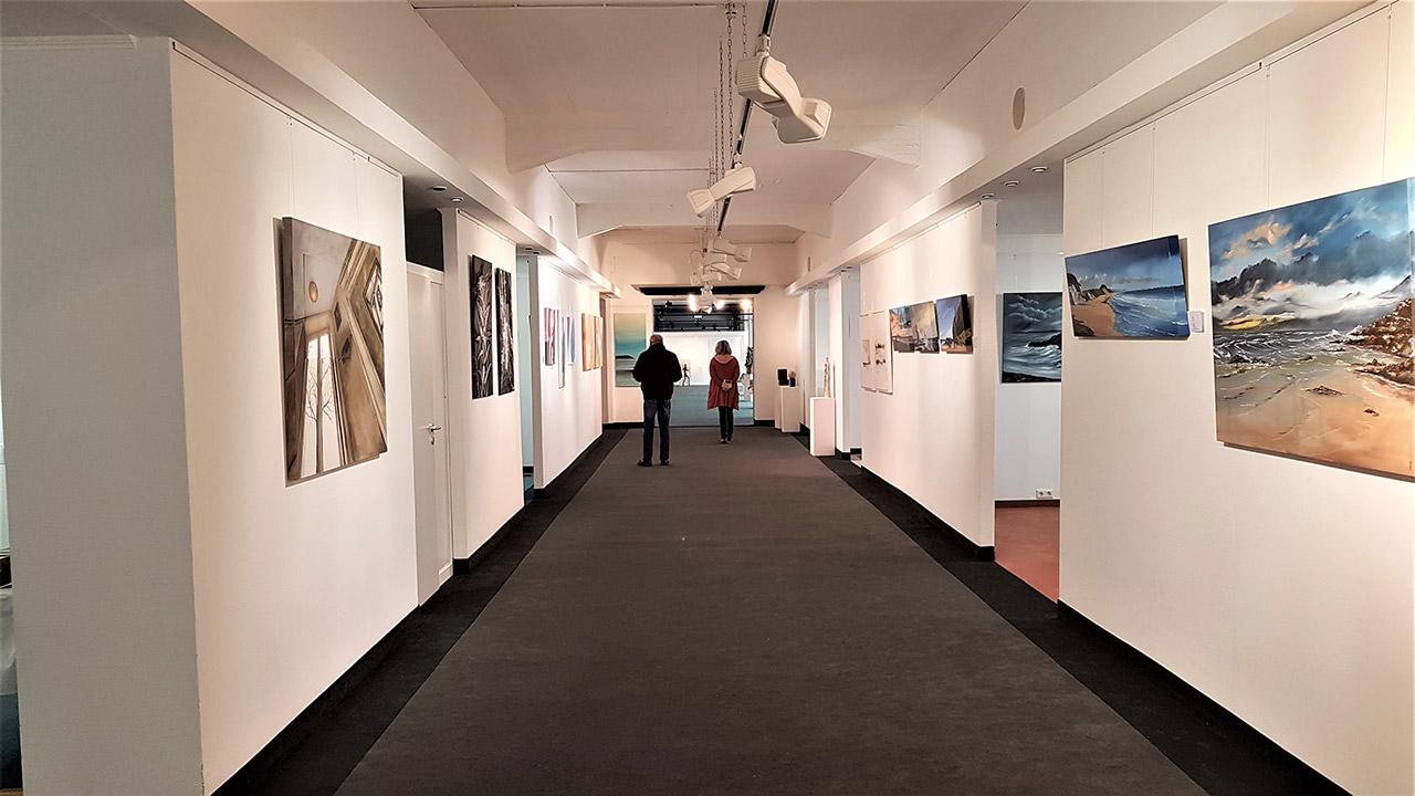 Ausstellung Vielschichtkunst der Lauenauer Kunstetage