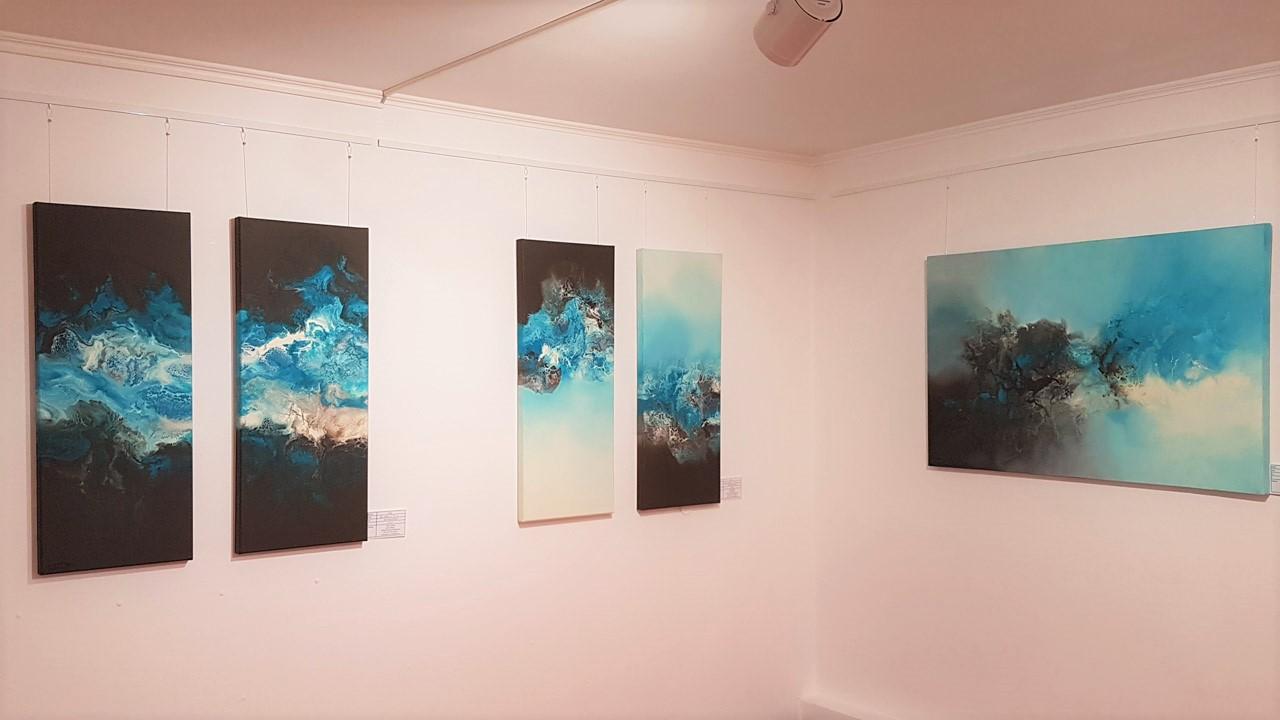 Doris Pöhler - Acrylmalerei - Bild 4 - Blaue Serie