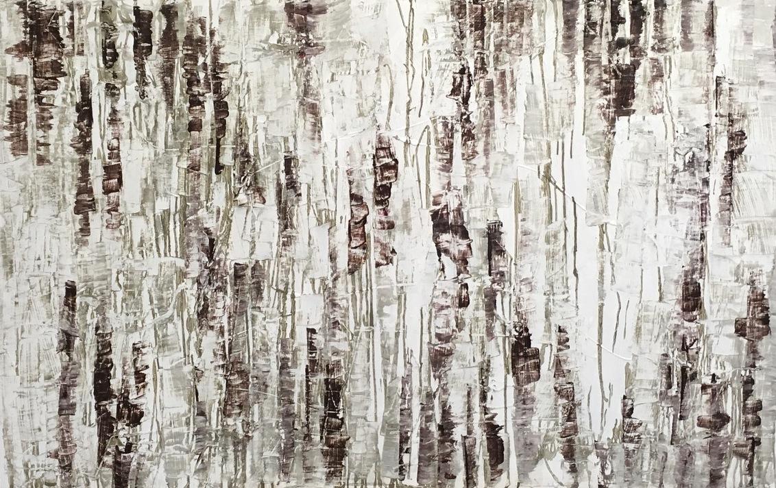 "Aileen Villwock, ""Haptische Struktur"" , Beton, Gips, Farbe, 2017"